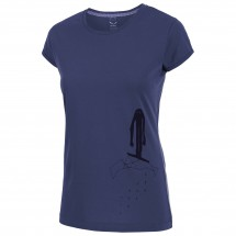 Salewa - Women's Frea Monkey Cotton S/S Tee - T-shirt