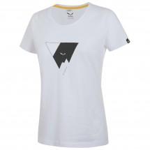 Salewa - Women's Triangle Cotton S/S Tee - T-paidat