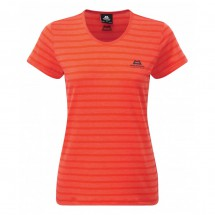 Mountain Equipment - Women's Groundup Stripe Tee - T-paidat