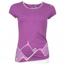 Chillaz - Women's T-Shirt Fancy Mountain Art - T-shirt