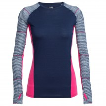 Icebreaker - Women's Comet L/S Crewe Impulse - Running shirt