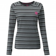 Moon Climbing - Women's Striped L/S - Long-sleeve