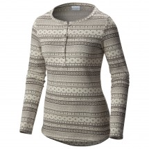 Columbia - Women's Aspen Lodge Jacquard Henley - Long-sleeve