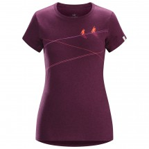 Arc'teryx - Women's Up slope S/S T-shirt - T-paidat