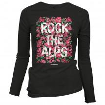 Alprausch - Women's Rock The Alps Blüemli - Long-sleeve
