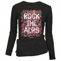 Alprausch - Women's Rock The Alps Blüemli - Longsleeve