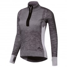 adidas - Women's Ultra Primeknit 1/2 Zip - T-shirt de runnin