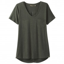 Prana - Women's Foundation S/S V-Neck Top - T-paidat