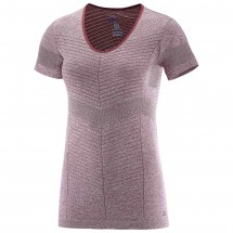 Salomon - Women's Elevate Seamless S/S Tee - Laufshirt