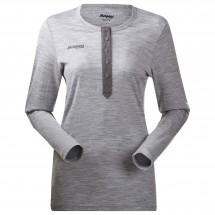 Bergans - Henley Wool Lady Shirt - Merino jumper