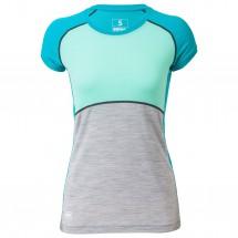 Mons Royale - Women's Bella Coola Tech Tee Geo - Joggingshirt