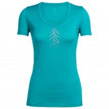 Icebreaker - Women's Tech Lite S/S Scoop Lancewood - T-shirt