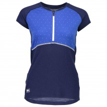 Mons Royale - Women's Bella Zip Tech Tee Geo - Sport shirt