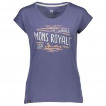Mons Royale - Women's Cali Cap Tee Wanaka - T-skjorte