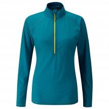 Rab - Women's Interval L/S Zip Tee - Funksjonsshirt