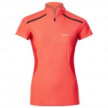 Berghaus - Women's Super Tech Tee Basezip S/S - Sport-T-shirt