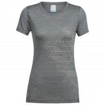Icebreaker - Women's Sphere S/S Low Crewe Fracture - T-shirt