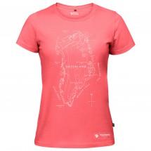 Fjällräven - Women's Greenland Printed T-Shirt - T-skjorte