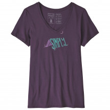 Patagonia - Women's Live Simply Sleeping Out Organic V-Neck T- - T-Shirt