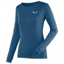 Salewa - Women's Puez Melange Dry L/S Tee - Funksjonsshirt