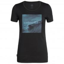 Icebreaker - Women's Tech Lite S/S Low Crewe Wavelogo - T-Shirt