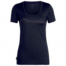 Icebreaker - Women's Tech Lite S/S Scoop Rangitoto Triple - T-paidat