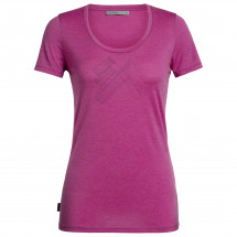Icebreaker - Women's Tech Lite S/S Scoop Snap Head - T-Shirt