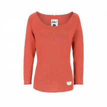 Bleed - Women's Knitted Linen Jumper - Trui
