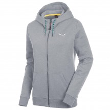 Salewa - Women's Solidlogo 2 Cotton Full-Zip Hoody - Hoodie