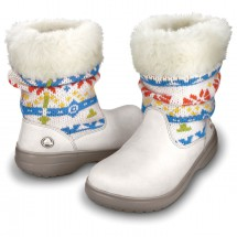 Crocs - Women's Cozycrocs Bootie Fair Isle - Winterstiefel