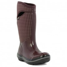 Bogs - Women's Plimsoll Houndstooth Tall - Winter boots