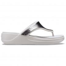 Crocs - Women's Monterey Metallic Wedge - Sandalen