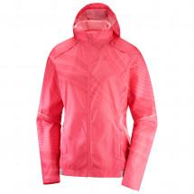 Salomon - Women's Agile Wind Print Hoodie - Running jacket