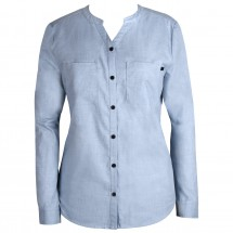Alchemy Equipment - Women's Band Collar Cotton Shirt - Bluse