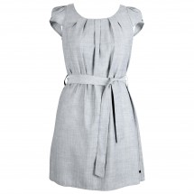 Alchemy Equipment - Women's Linen Blend Pleat Front Dress