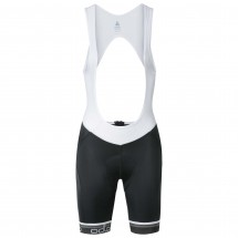 Odlo - Women's Flash X Tights Short Suspenders - Pyöräilyhou