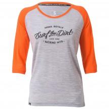 Mons Royale - Women's Phoenix 3/4 Raglan Tee Dirt - Cycling jersey