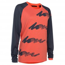 ION - Women's Tee L/S Scrub AMP - Maillot de cyclisme