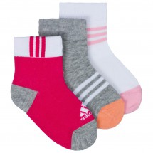 Adidas - 3S Kids Socks 3PP - Chaussettes multifonction