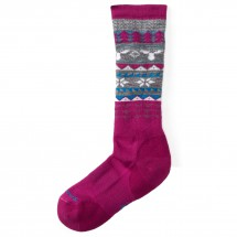 Smartwool - Girl's Wintersport Fairisle Moose - Ski socks