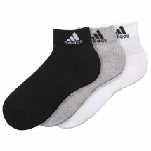 adidas - 3S Performance Ankle Half Cushioned 6PP