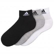 adidas - 3S Performance Ankle Half Cushioned 6PP - Multifunksjonssokker