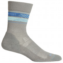 Icebreaker - Women's Hike Light Crew Horizon Stripe - Walking socks