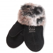 66 North - Kaldi Arctic Mittens W/Fur - Gloves