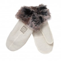 66 North - Kaldi Arctic Mittens W/Fur - Gants