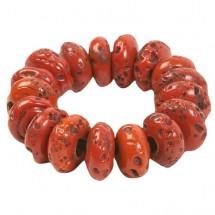 Prana - Large Glass Bead Bracelet