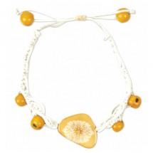 Prana - Engraved Macrame Bracelet - Organic