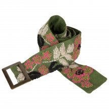 Prana - Embroidered Wool Belt - Gürtel
