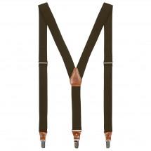 Fjällräven - Singi Leather Clip Suspenders - Henkselit