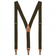 Fjällräven - Sarek Leather Clip Suspenders - Henkselit